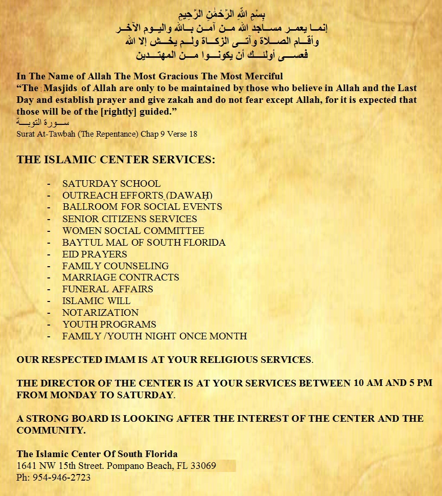 THE-ISLAMIC-CENTER-SERVICES