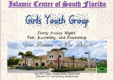 Girls Youth Group Weekly Program
